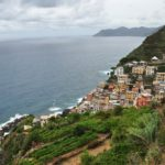 Riomaggiore - widok z drogi dojazdowej