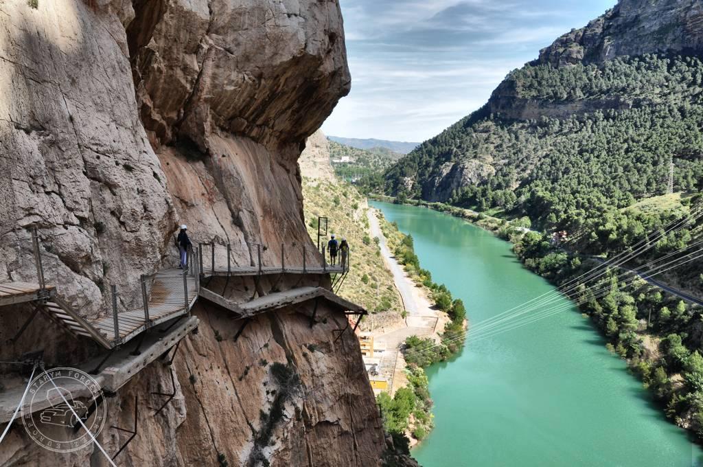 w drodze na Gibraltar - El Caminito del Rey Andaluzja