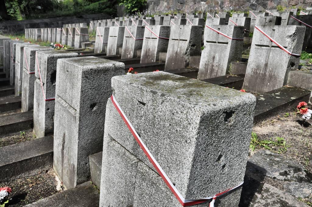 Rosa cmentarz wojskowy