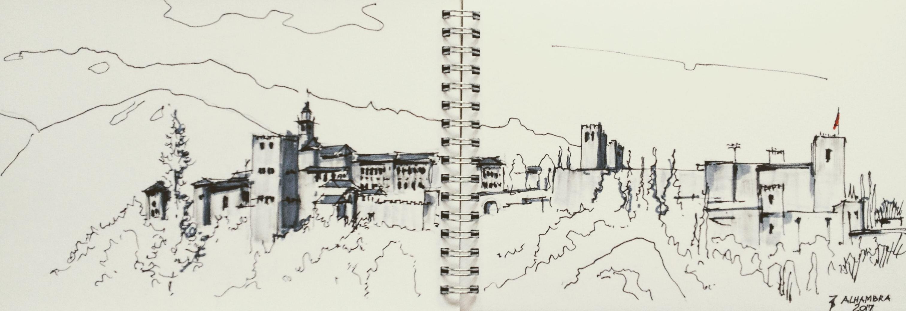Alhambra sketch