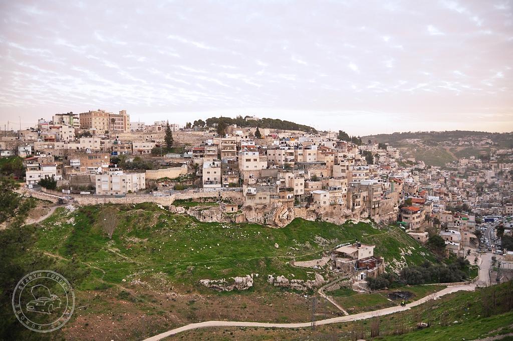 Dolina Cedronu i ruiny Miasta Dawida