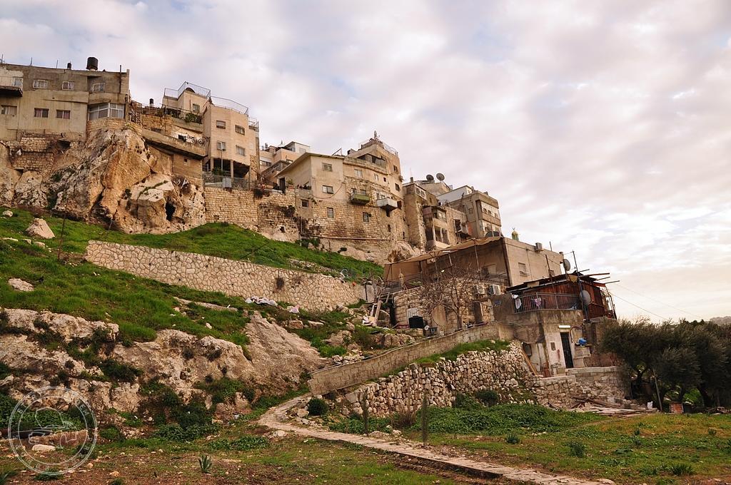 Miasto Dawida ruiny