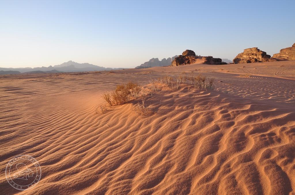 Piasek pustyni Wadi Rum