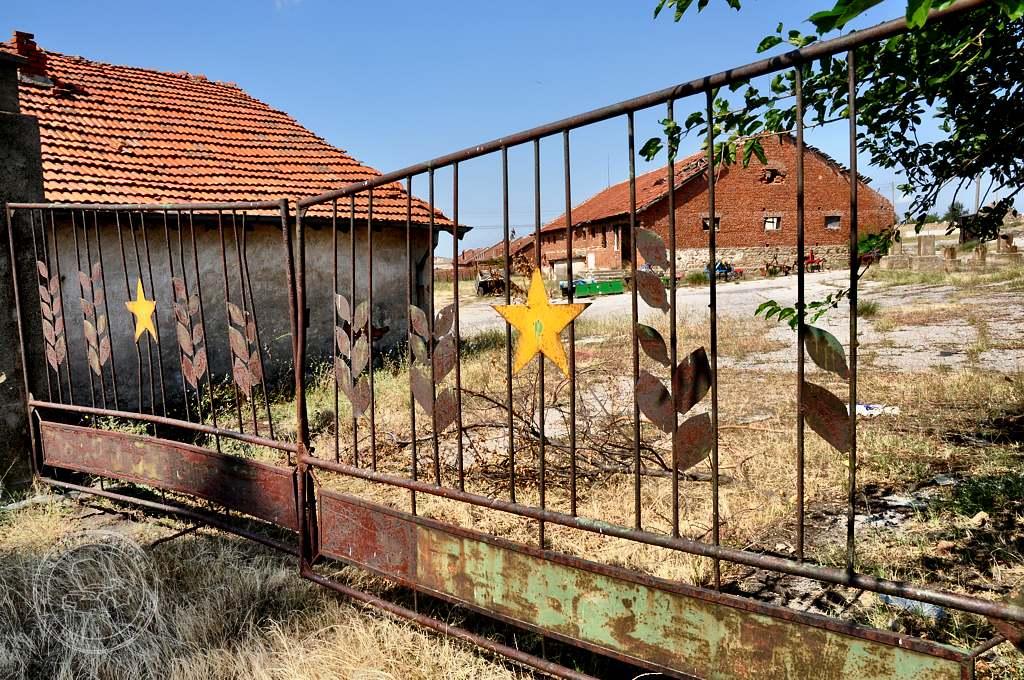Stary opuszczony PGR
