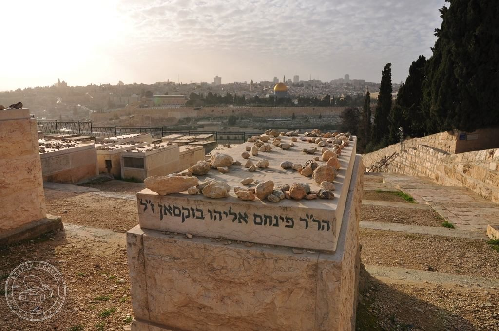 Cmentarz Żydowski na Górze Oliwnej, groby