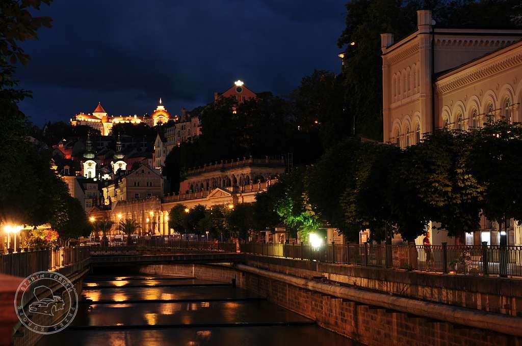 Karlowe Wary nocą