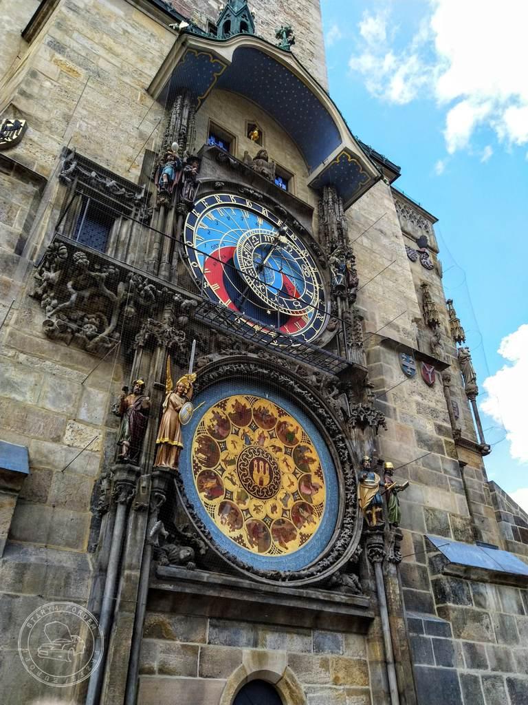 zegar astronomicznym Pražský Orloj