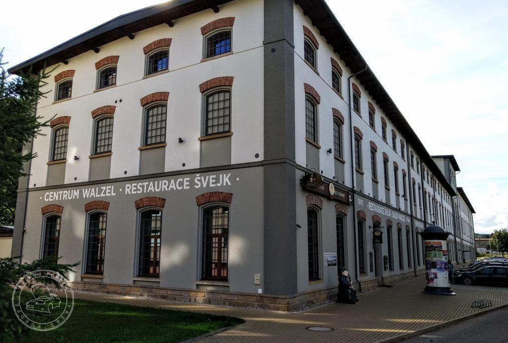 Restauracja Svejk w starej fabryce włókienniczej