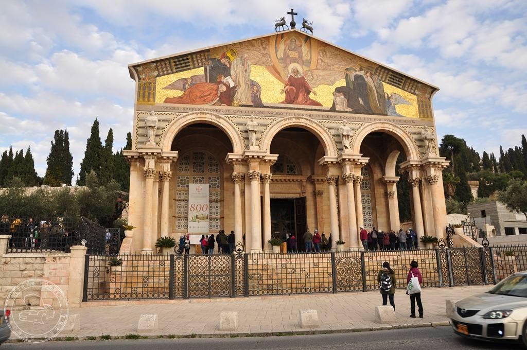 Front Kościoła Narodów w jerozolimie