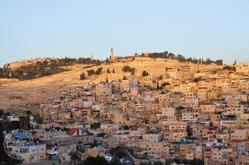 Widok na Górę Oliwną w Jerozilimie