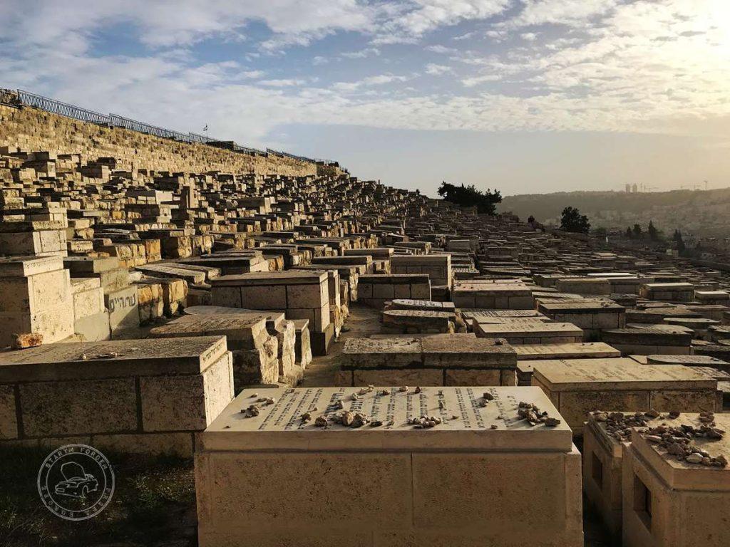 Cmentarz w Dolinie Cedronu w Jerozolimie