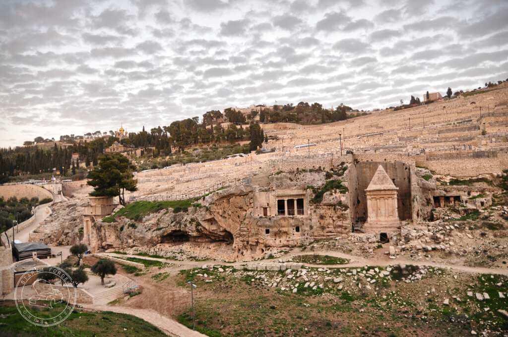 Grobowce proroków w Dolinie Cedronu