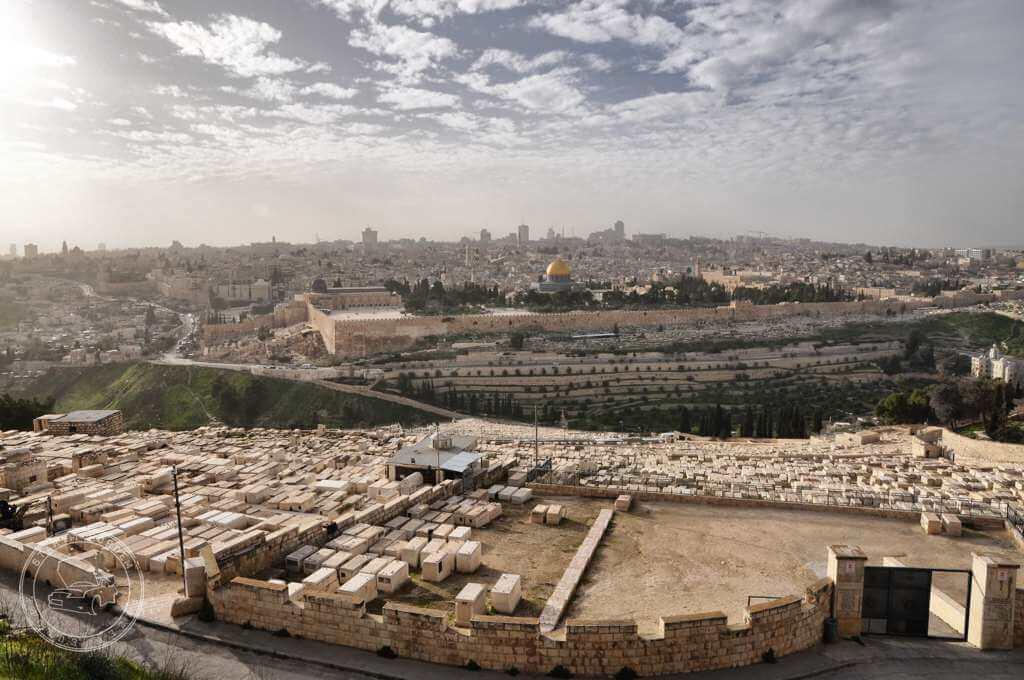 Cmentarz na Górze Oliwnej w Jerolozlimie