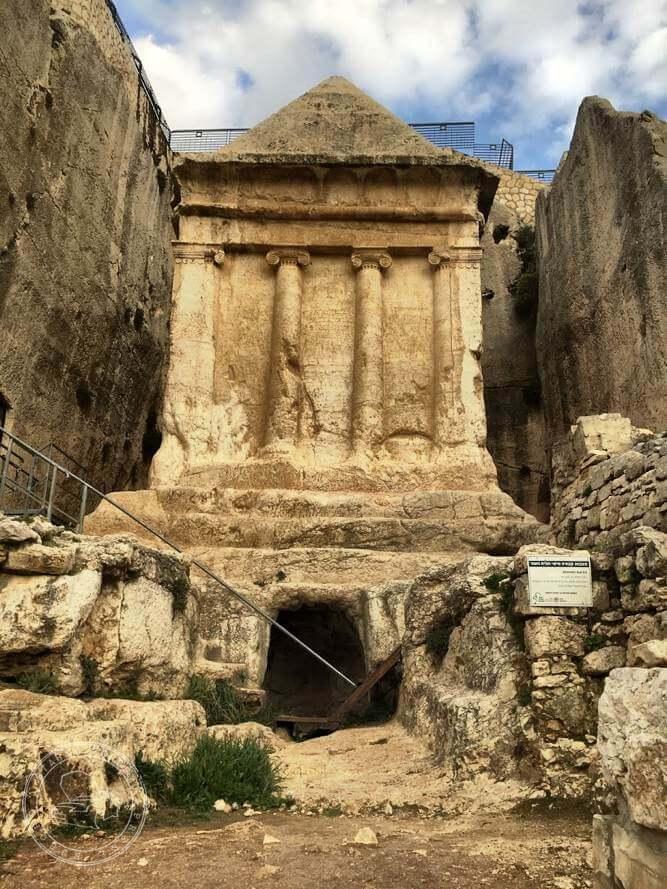 Miasto Dawida grobowiec