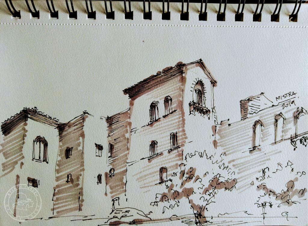 Mistra Pałac Cesarza