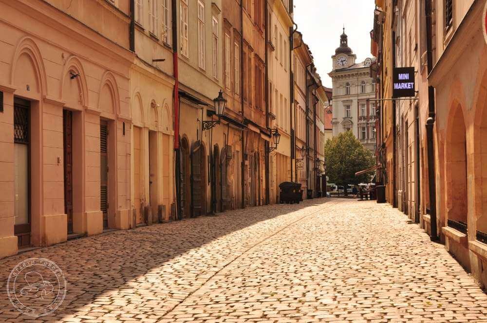 Praga uliczka
