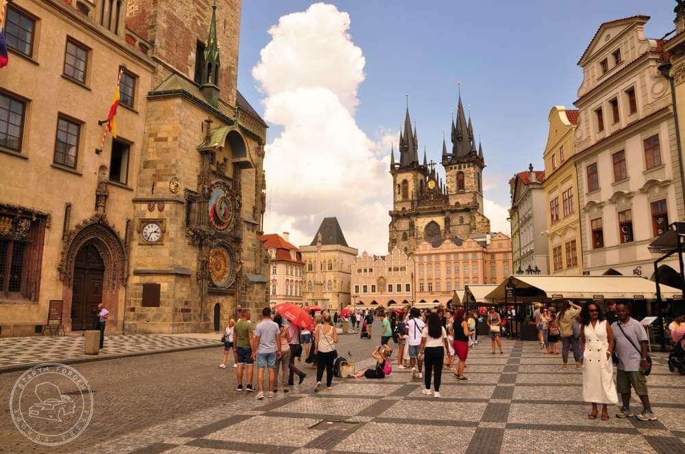 Praga, ratusz